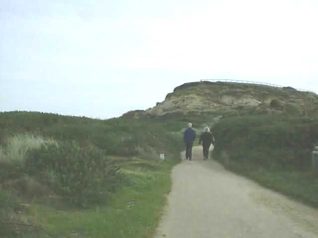Hengistbury Head cliffs