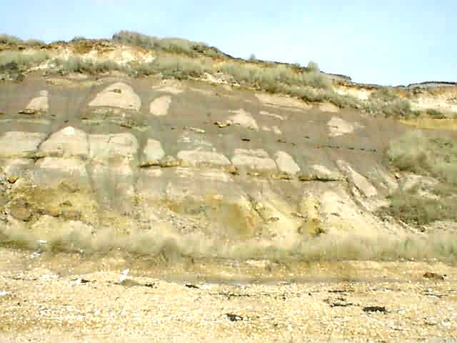 The Strata at the easterly end of Hengistbury Head